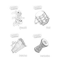 8 dessins à colorier